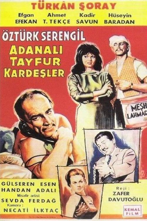Regarder Le Film Adanalı Tayfur Kardeşler Avec Sous-Titres Français