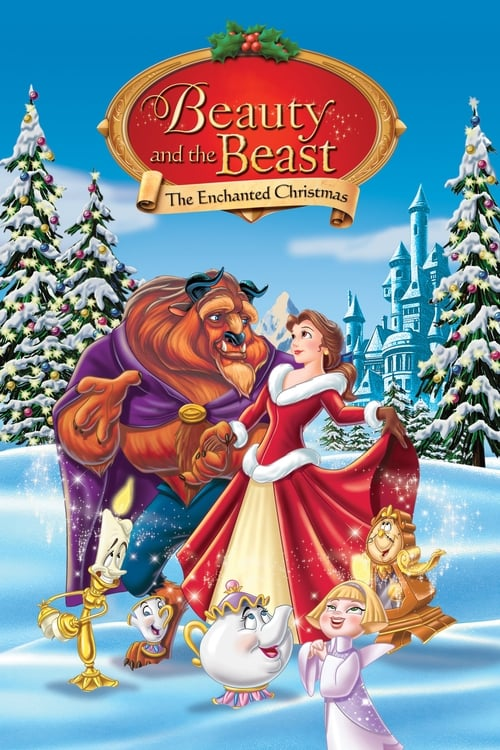 Beauty and the Beast: The Enchanted Christmas - Poster