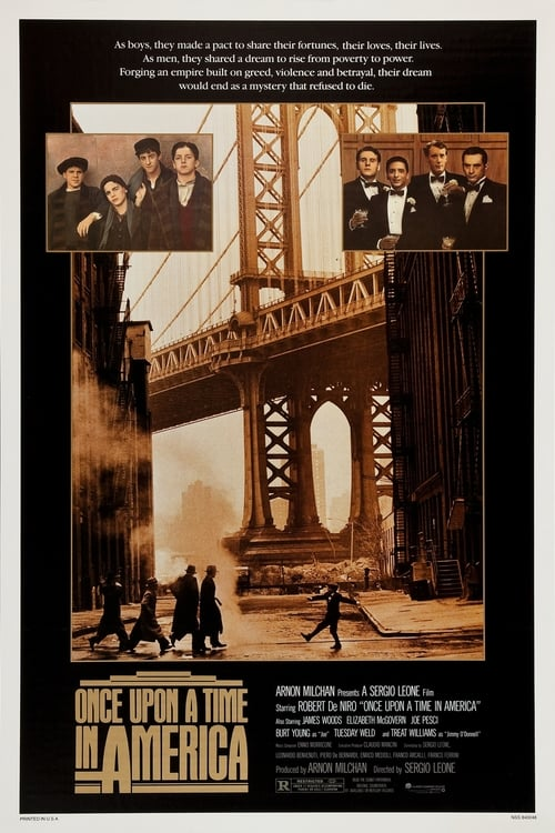 Once Upon a Time in America Affiche de film