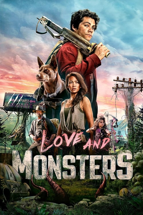 Poster. Love and Monsters (2020)