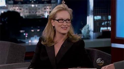 Jimmy Kimmel Live 2014 Streaming: Season 12 – Episode Meryl Streep; Joseph Gordon-Levitt; Jonny Lang