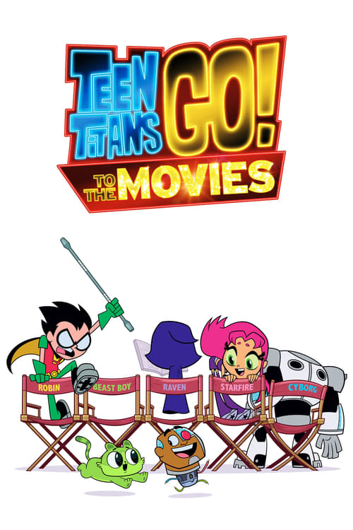Here's a look Teen Titans Go! To the Movies