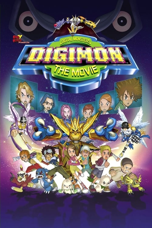 Digimon: The Movie - Poster