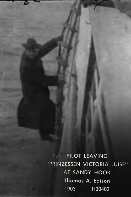 Pilot Leaving 'Prinzessen Victoria Luise' at Sandy Hook