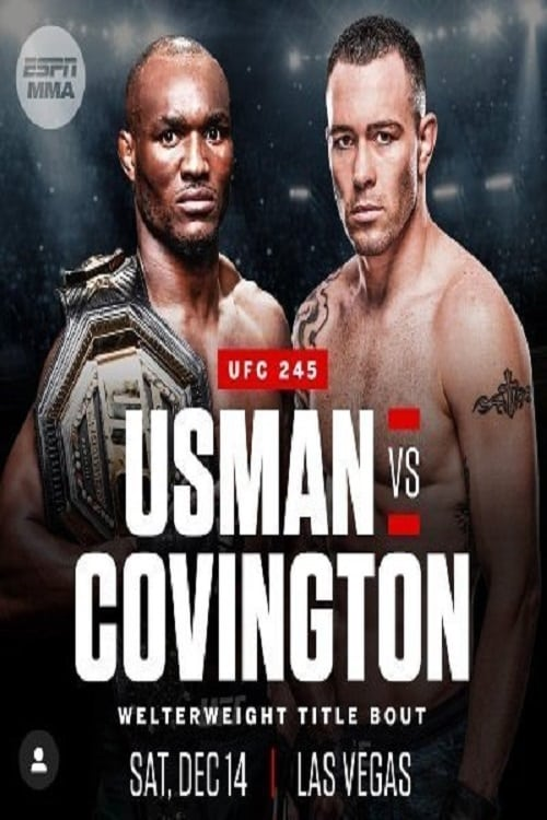 Assistir Filme UFC 245: Usman vs. Covington Early Prelims Com Legendas On-Line