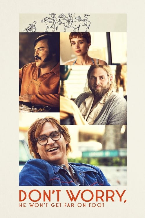شاهد الفيلم Don't Worry, He Won't Get Far on Foot بجودة HD 720p