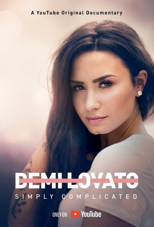 Largescale poster for Demi Lovato: Simply Complicated