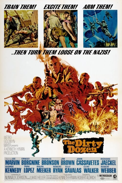 Streaming The Dirty Dozen (1967) Full Movie
