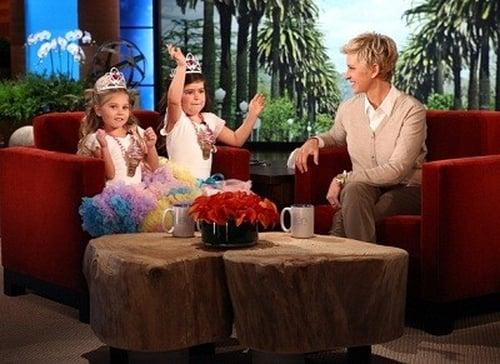 The Ellen DeGeneres Show: Season 9 – Episode Sophia Grace Brownlee & Rosie McClelland, Mark, Claire & Claudia Kelly, Tim Allen, Daughtry