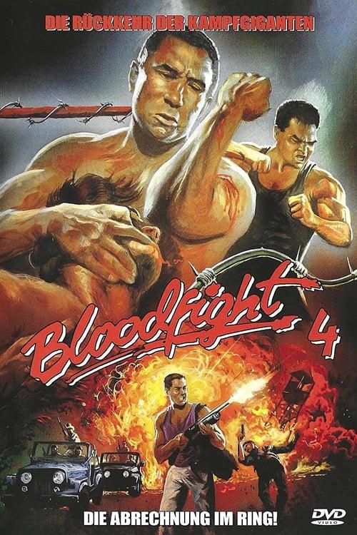 Bloodfight 4 - Die Abrechnung im Ring! - Poster
