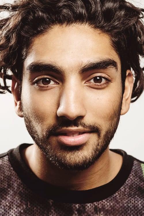 Kép: Mawaan Rizwan színész profilképe