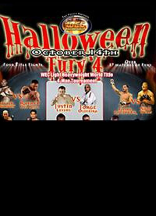 WEC 17: Halloween Fury 4 Streaming VF