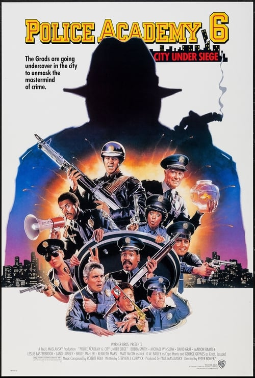 Download Police Academy 6: City Under Siege (1989) Best Quality Movie