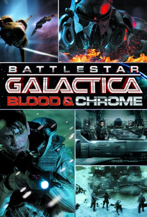 Largescale poster for Battlestar Galactica: Blood & Chrome
