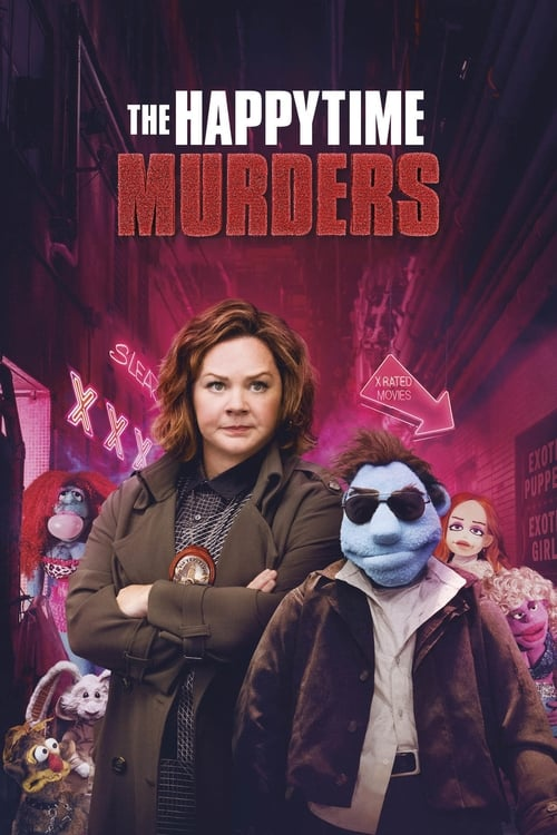 Poster. The Happytime Murders (2018)