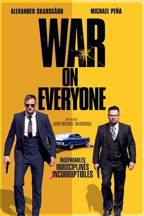 Film War on Everyone De Bonne Qualité
