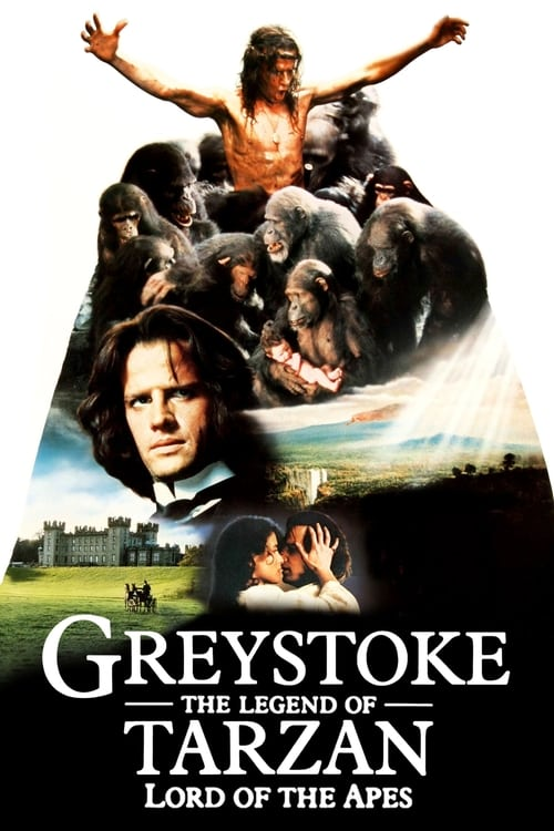 Largescale poster for Greystoke: The Legend of Tarzan, Lord of the Apes