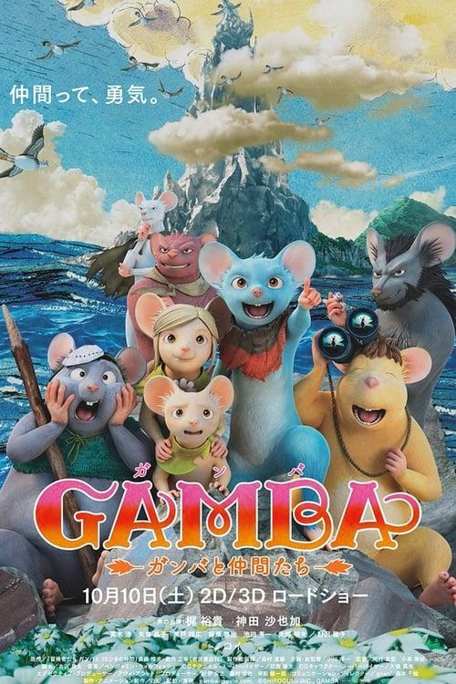 Mira Las aventuras de Gamba Gratis En Línea