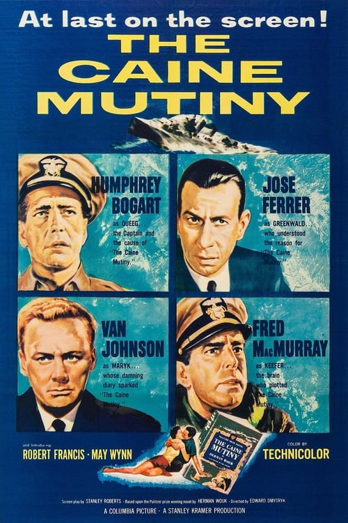 Watch The Caine Mutiny (1954) Movie Free Online