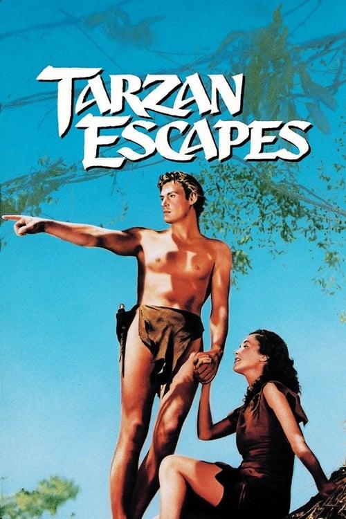 شاهد الفيلم Tarzan Escapes مدبلج بالعربية