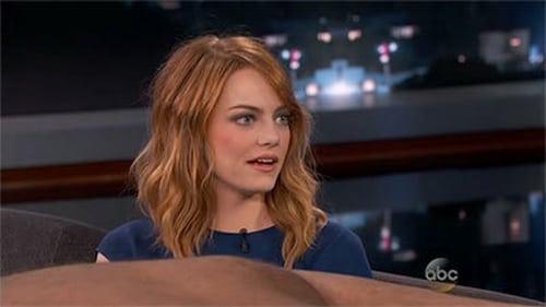 Jimmy Kimmel Live 2014 Streaming: Season 12 – Episode Emma Stone, Jeff Perry, Schoolboy Q