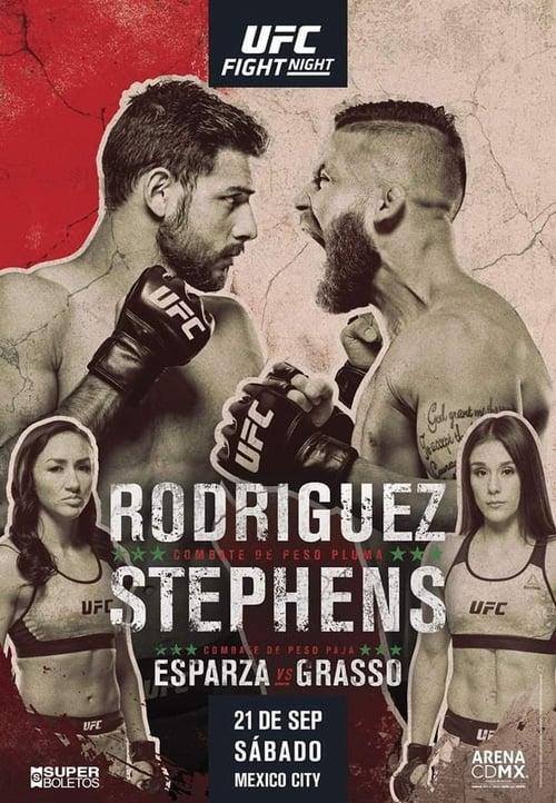 UFC Fight Night 159: Rodriguez vs. Stephens (2019)