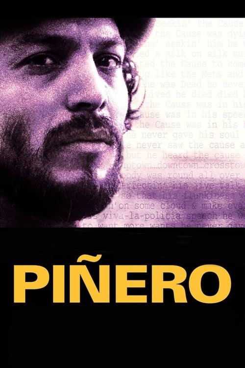Piñero Poster