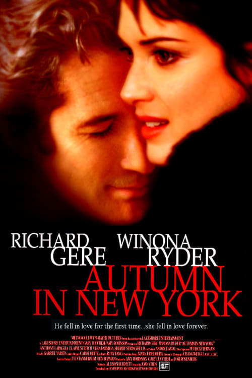 The poster of Autumn in New York