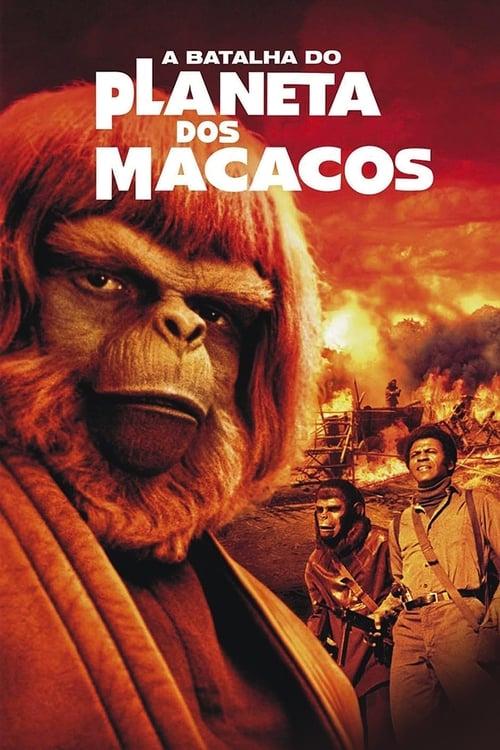 Assistir A Batalha do Planeta dos Macacos (1973) Full HD 1080p Blu-Ray Online Grátis HD