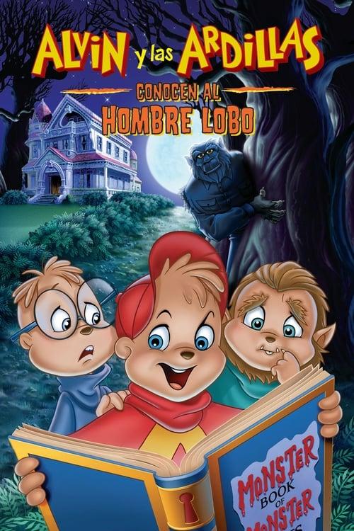 Mira La Película Alvin y las ardillas conocen al hombre lobo Doblada En Español