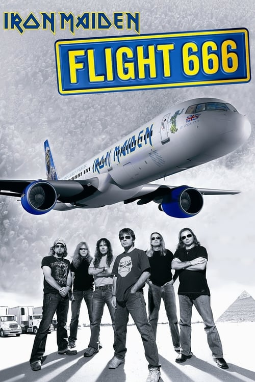 Largescale poster for Iron Maiden: Flight 666 - The Concert
