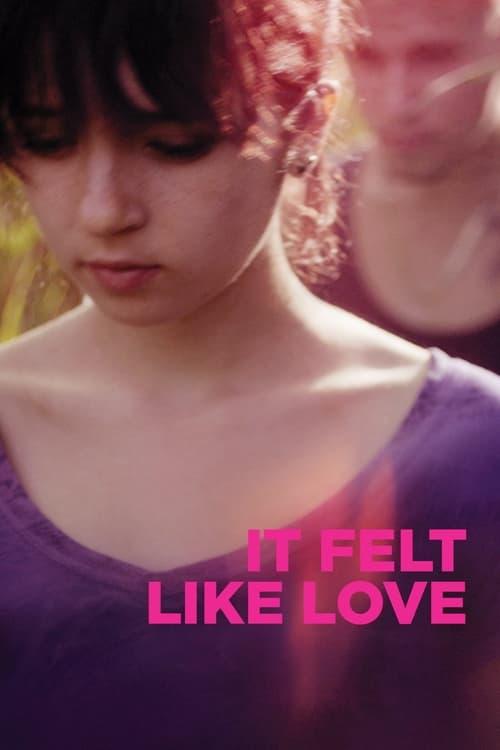 Grootschalige poster van It Felt Like Love
