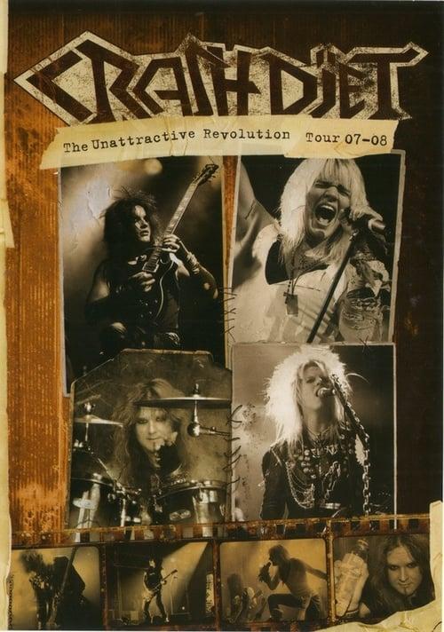 Crashdïet - The Unattractive Revolution Tour 07-08 poster