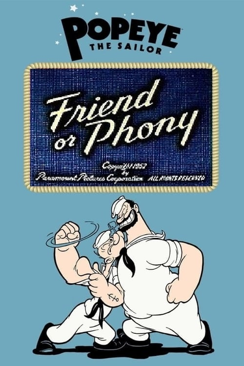 Friend or Phony (1952) Poster