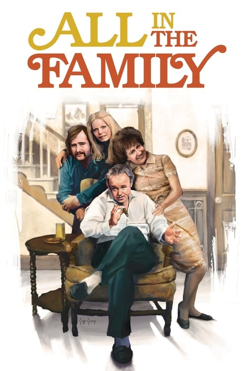 all in the family tv series 1971 1979 the movie database tmdb. Black Bedroom Furniture Sets. Home Design Ideas