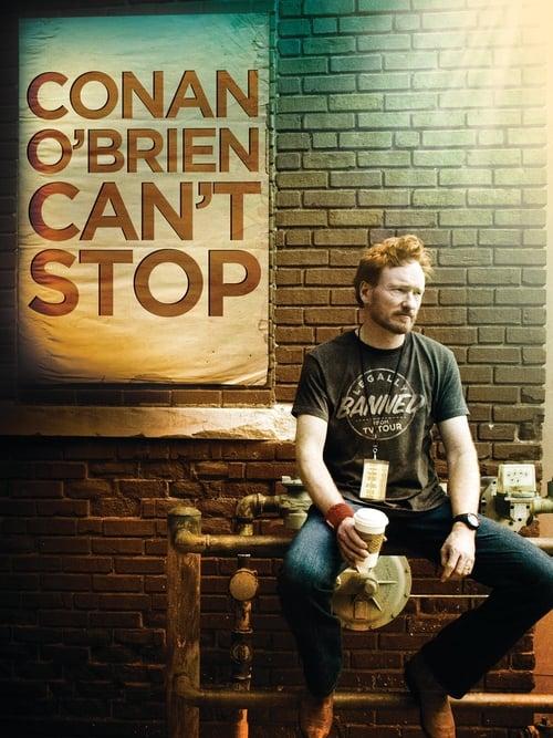 Conan O'Brien Can't Stop (2011) Poster