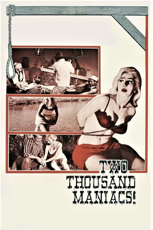 Two Thousand Maniacs! (1964) Poster