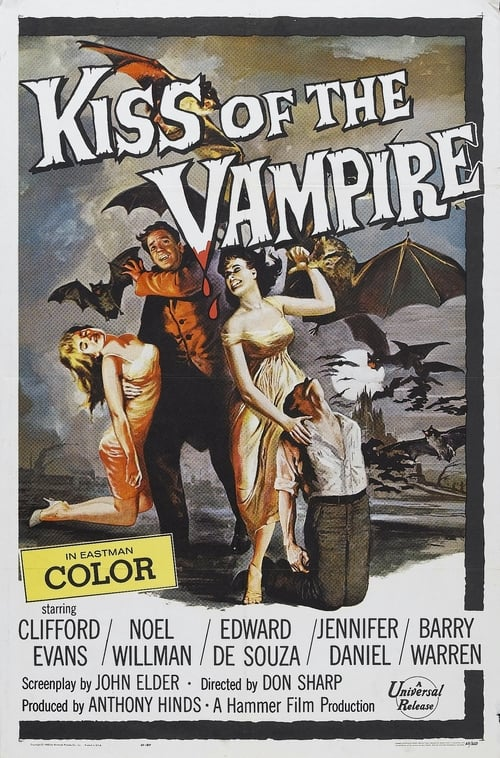 The Kiss of the Vampire (1963) Poster