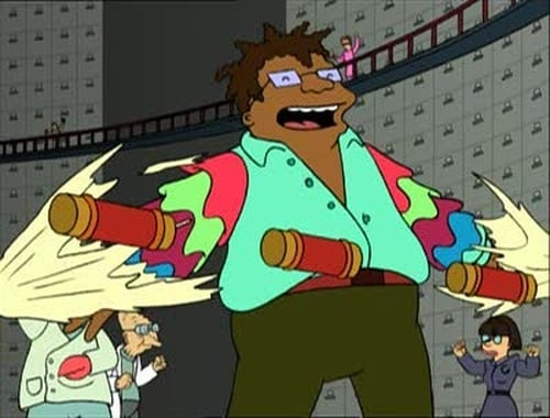 Futurama - Season 2 - Episode 14: How Hermes Requisitioned His Groove Back