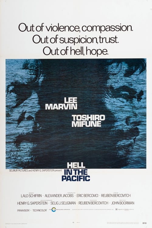 Hell in the Pacific (1968) Poster