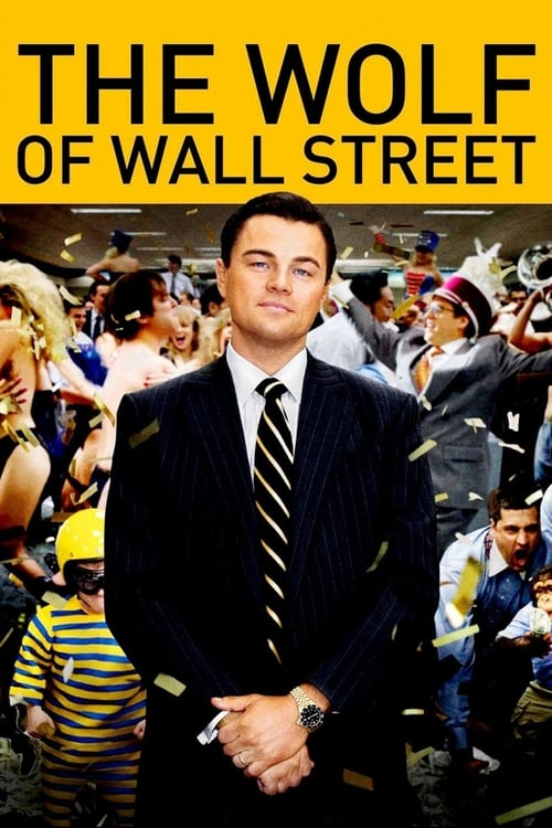The poster of The Wolf of Wall Street