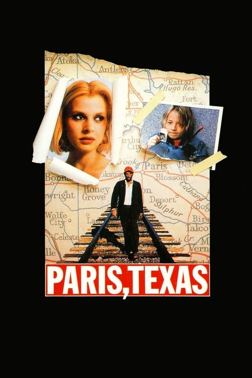Largescale poster for Paris, Texas