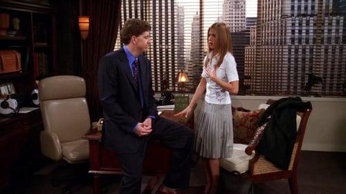 Aquele com o beijo acidental da Rachel