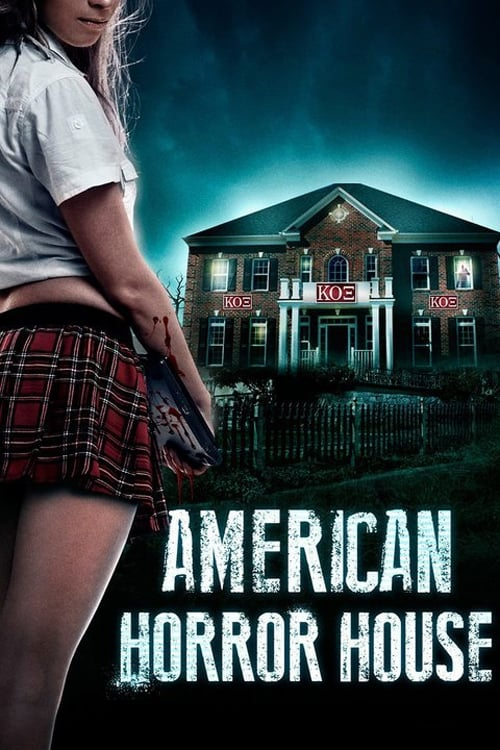 American Horror House Poster