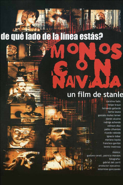 Largescale poster for Monos con Navaja