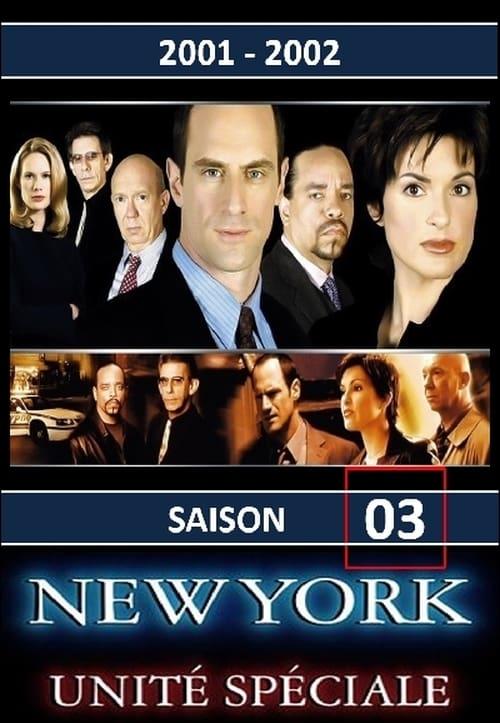 New York Unité Spéciale: Saison 3