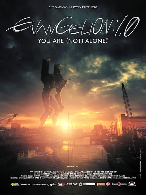 ★ Evangelion: 1.0 You Are (Not) Alone (2007) streaming Amazon Prime Video