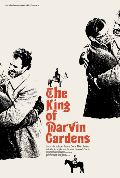 The King of Marvin Gardens (1972) Poster