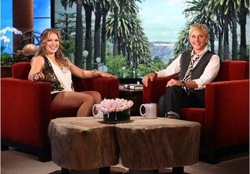 The Ellen DeGeneres Show: Season 9 – Episode Hilary Duff, J,R, Martinez & Karina Smirnoff, Logan Lerman