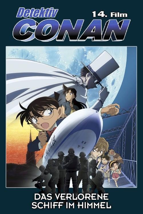 Detektiv Conan - Das verlorene Schiff im Himmel - Action / 2018 / ab 12 Jahre